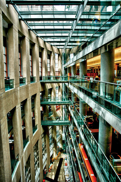 Vancouver Library.