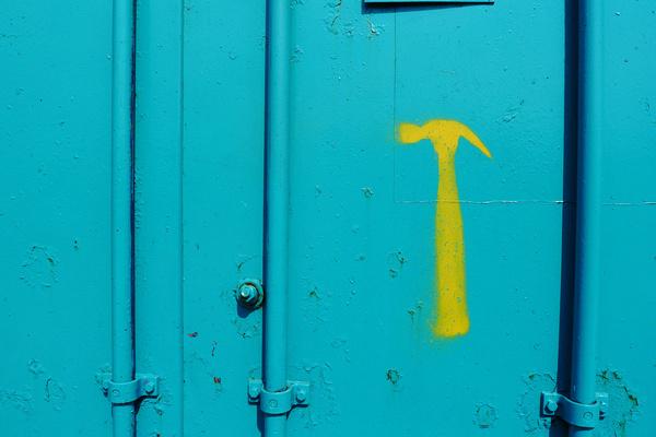 Hammer Time. Kelsey Horne, society 6