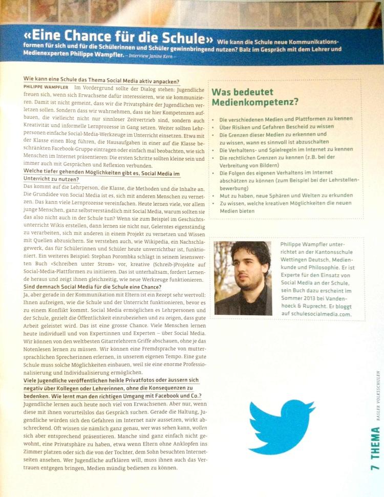 Interview Basler Volksschulen 2