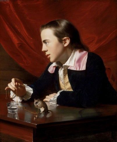 John Singleton Copley - A Boy with a Flying Squirrel (1765)