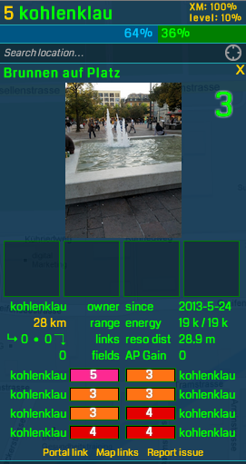 Das Portal am Marktplatz in Oerlikon.