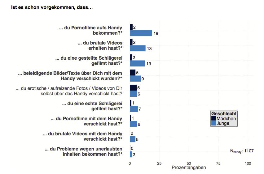 Quelle: Ergebnisbericht JAMES-Studie 2012