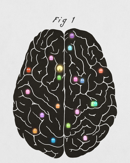 Your Brain on Videogames, Terry Fan, society6